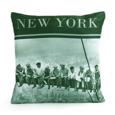 Polštářek World NY People 2, 40 x 40 cm