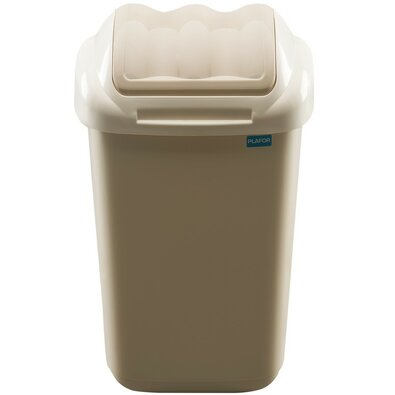 Aldotrade Odpadkový koš FALA 15 l, béžová