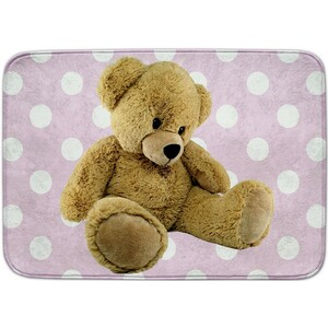 Vopi Dětský koberec Ultra Soft Medvídek růžová, 100 x 150 cm