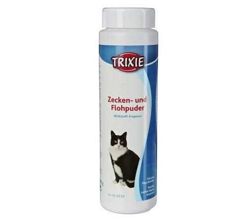 Púder proti blchám a kliešťom pre mačky Triexie, 1