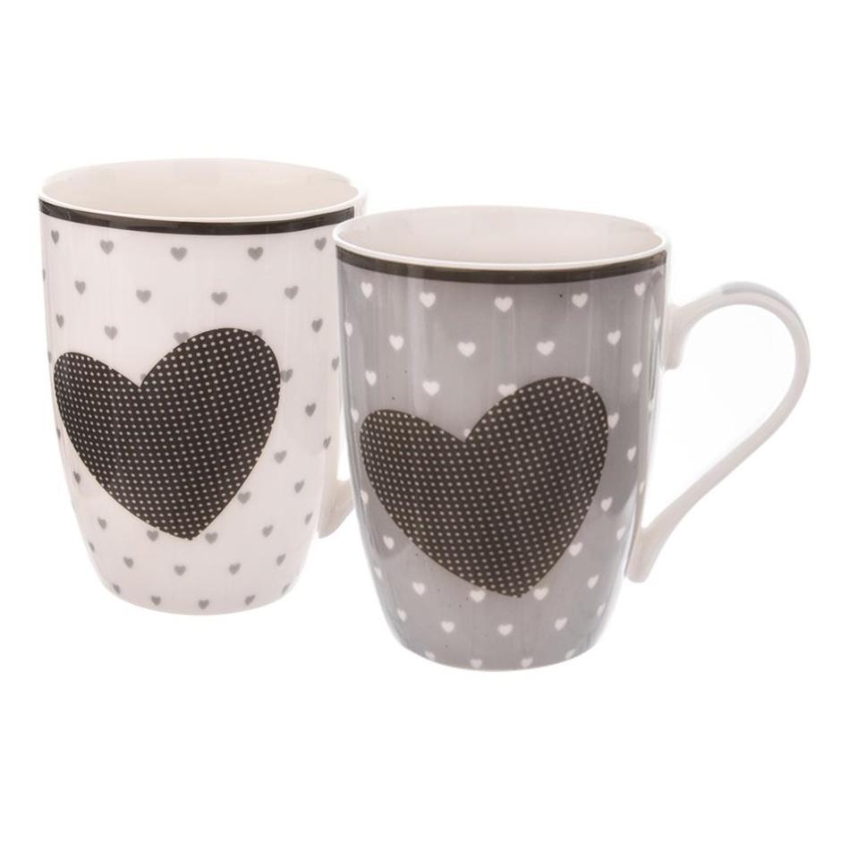 Orion Dárková sada porcelánových hrnků Valentine 350 ml, 2 ks