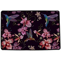 Covor multifuncțional interior Butter Kings Hummingbirds, 90 x 60 cm