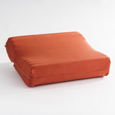 Anatomický polštář EXCLUSIVE 35/45 cm, oranžová