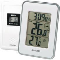 Sencor SWS 25 BS Termometr z czujnikiem bezprzewodowym, biały