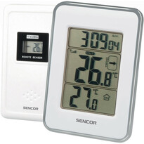 Sencor SWS 25 WS Teplomer s bezdrôtovým senzorom, biela