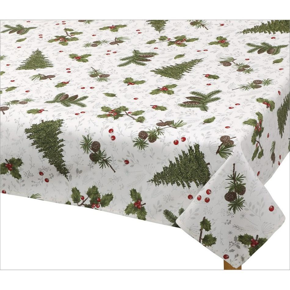 Bellatex Ubrus Vánoční jehličí, 100 x 100 cm