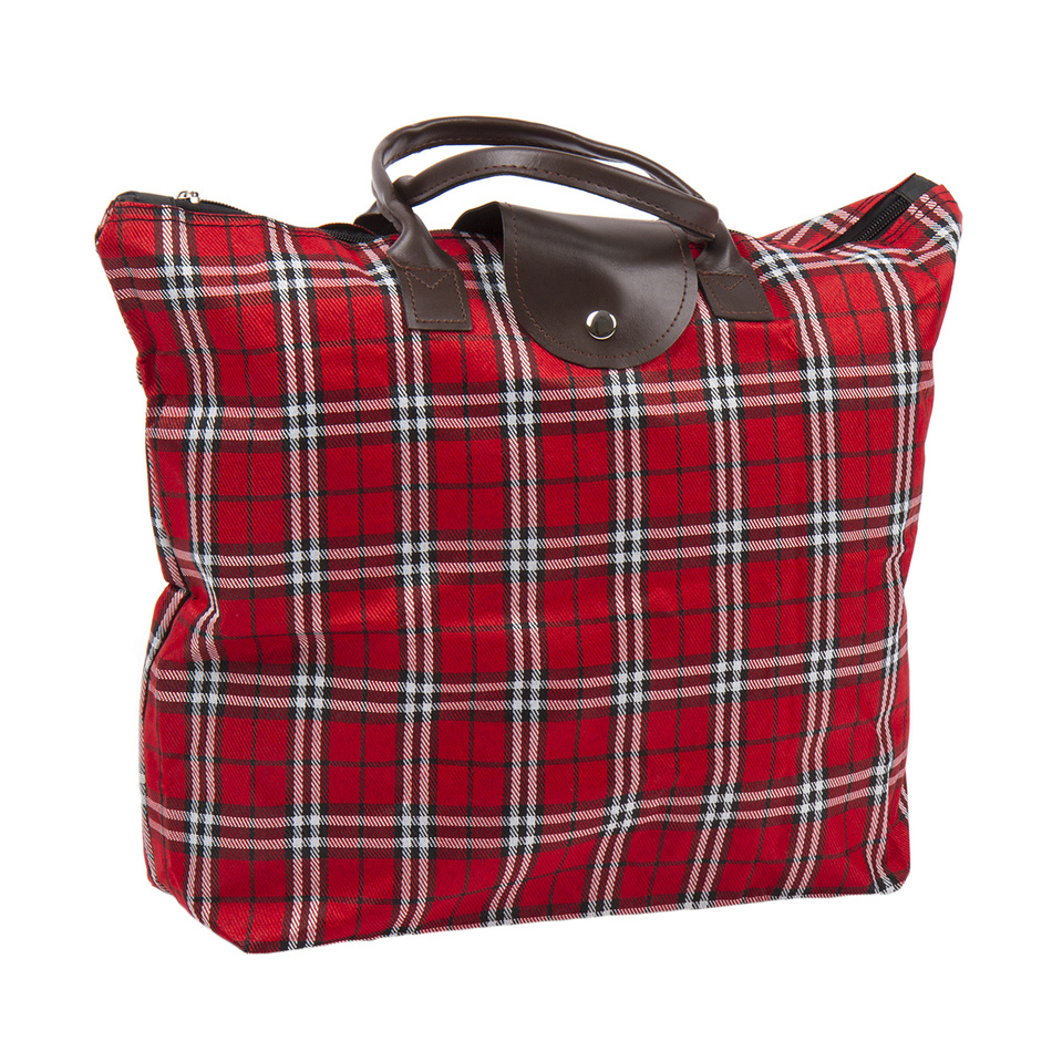Skládací taška Kostka, červená