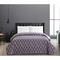 DecoKing Hypnosis Rhombuses ágytakaró, szürke, 220 x 240 cm
