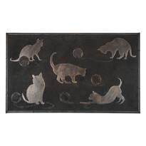 Vonkajšia rohožka Mačky, 45 x 75 cm
