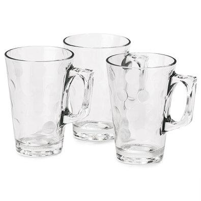 Koopman Sada pohárov s uškom 250 ml, 3 ks
