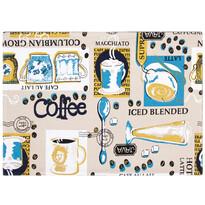Coffee alátét, 33 x 45 cm