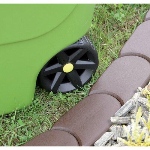 Záhradná palisáda terakota, 382,7 cm