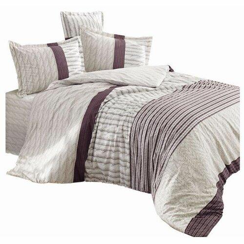 Haley home Povlečení Knitting bavlna, 140 x 220 cm, 70 x 90 cm