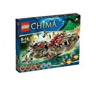 Lego Chima Craggerův krokodýlí člun, vícebarevná