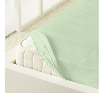 Kleine Wolke prostěradlo mako jersey, zelená, 180 x 200 cm