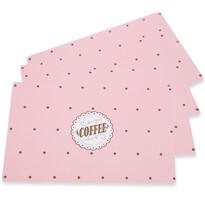 Altom Vintage Pink alátét, 28 x 43 cm, 4 db-os készlet