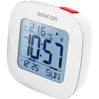 Sencor SDC 1200 W zegar z budzikiem, biały