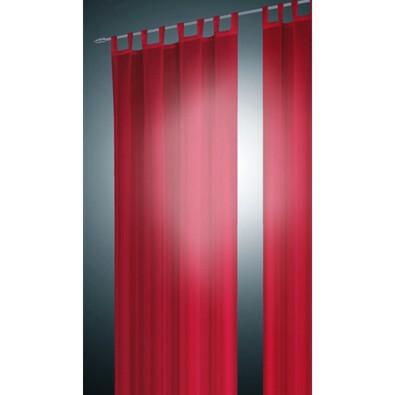 Závěs David červená, 140 x 245 cm, sada 2 ks