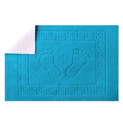 Koupelnová předložka Barefoot tyrkysová, 50 x 70 cm