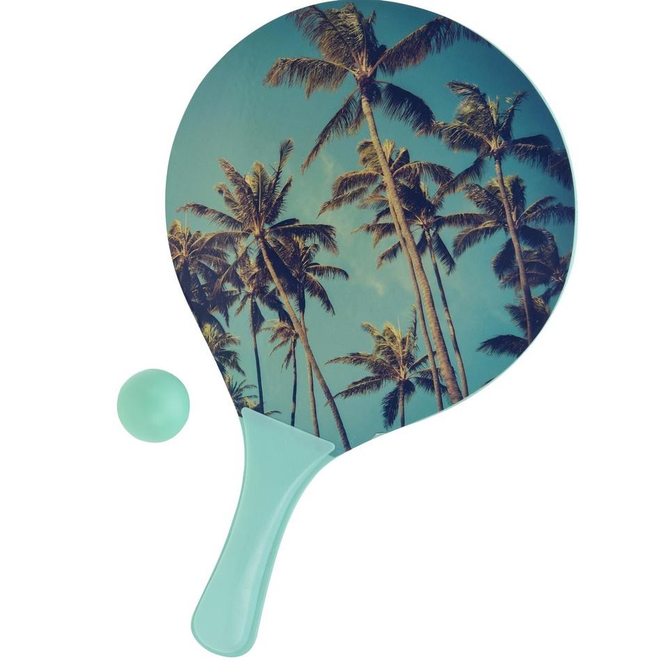 Set na plážový tenis Summer, modrá