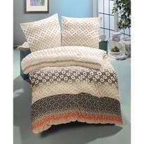 Lenjerie de pat din satin Diana Luxury Collection, 2 persoane, 240 x 200 cm, 2 buc. 70 x 90 cm