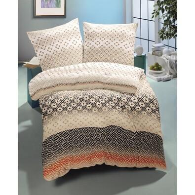 Lenjerie de pat din satin Diana Luxury Collection,2 persoane, 200 x 200 cm, 2 buc. 70 x 90 cm
