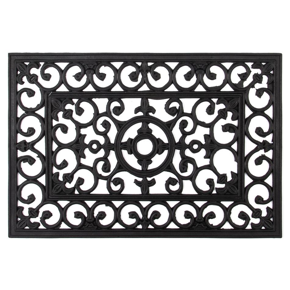 Trade Concept Gumová rohožka Litina, 40 x 60 cm