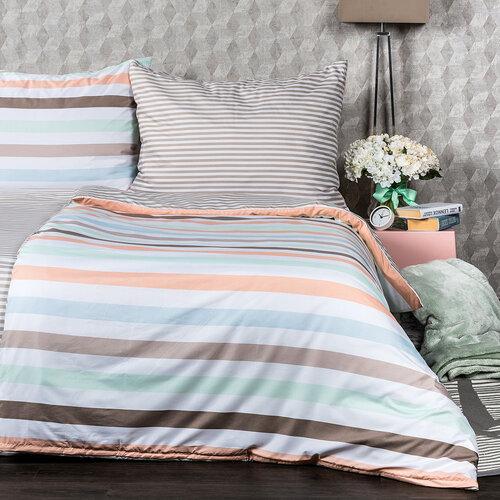 Lenjerie de pat 4Home Pastel Stripes, micro, 140 x 220 cm, 70 x 90 cm