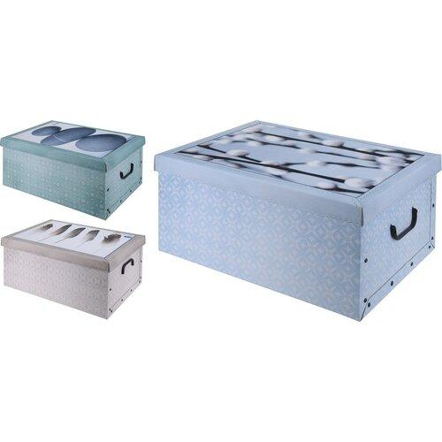 Úložný box New nature, modrá