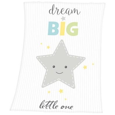 Detská deka Fynn Dream Big, 75 x 100 cm