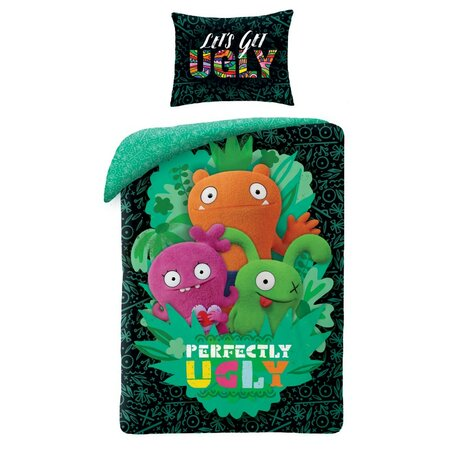 Detské bavlnené obliečky Ugly Dools Perfectly, 140 x 200 cm, 70 x 90 cm