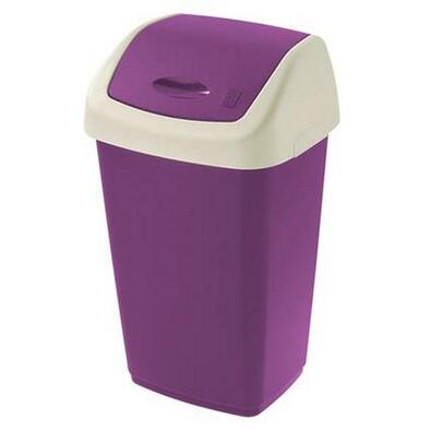 Koš na odpadky SWING AURORA fialová
