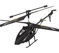 Venkovní tříkanálový 38 cm vrtulník s kamerou, Bud, černá