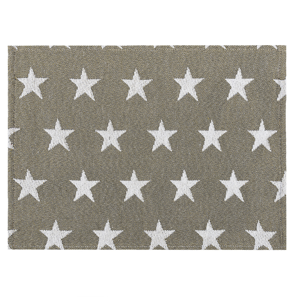 Dakls Prostírání Stars béžová, 33 x 48 cm