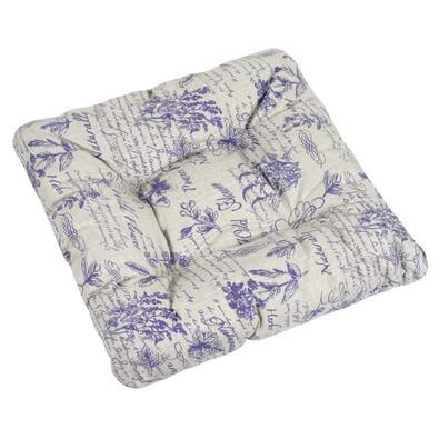 Sedák Adéla Byliny fialová, 40 x 40 cm