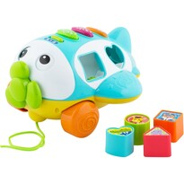 """Wkładanka Buddy Toys BBT 3510 """"Samolot"""" niebieski"""
