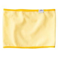 Nepremokavá podložka na prebaľovací pult žltá, 25 x 100 cm