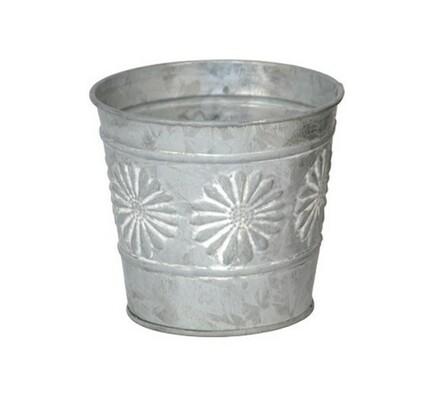 Kovový obal stříbrný, 12,5 x 11 cm