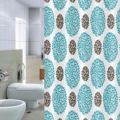 Sprchový závěs Pesaro modrošedá, 180 x 200 cm
