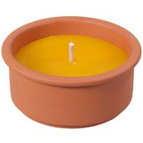 Lumânare repelentă citronela 15 cm
