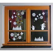 Sada okenních dekorací