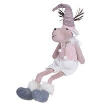 Koopman Bożonarodzeniowy pluszowy renifer Reindeer Boy, 60 cm