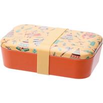 Svačinový box Indian, 19 x 13 x 5,5 cm, žlutá