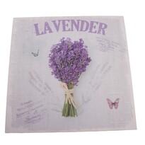 Obraz na plátně Lavender, 28 x 28 cm