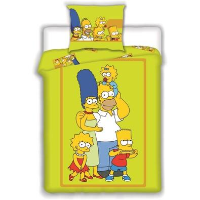 Dětské bavlněné povlečení Simpsons 2015, 140 x 200 cm, 70 x 90 cm