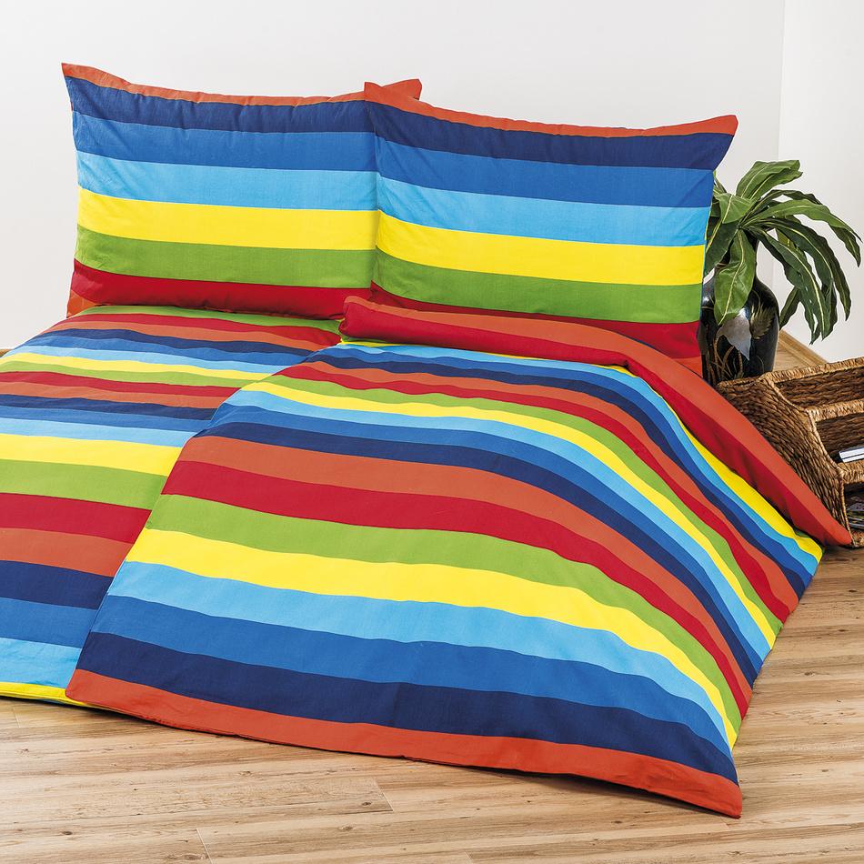 4Home Bavlnené obliečky Stripes, 140 x 200 cm, 70 x 90 cm