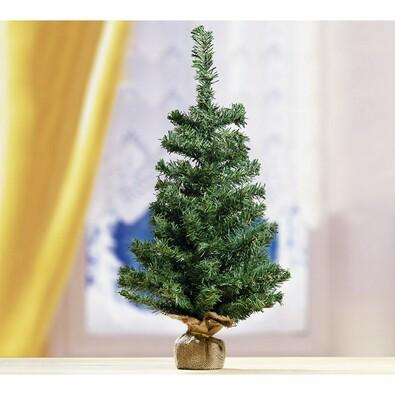 Malý vánoční stromeček zelený, 60 cm, zelená