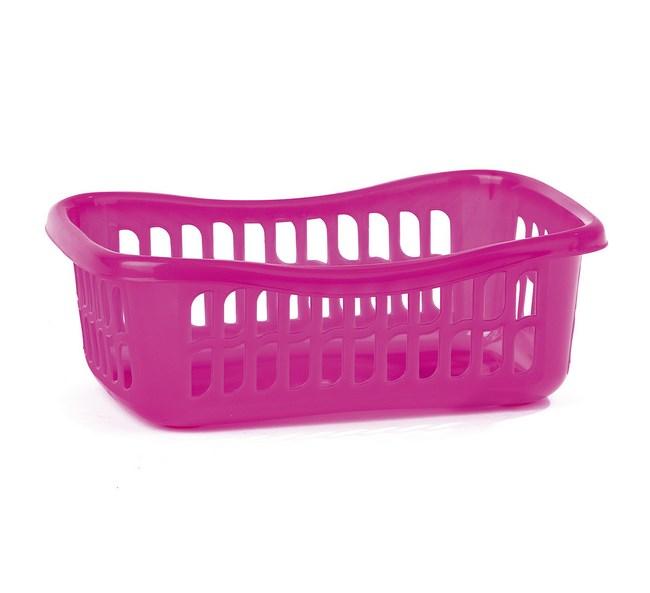 3dílná sada košíků růžová
