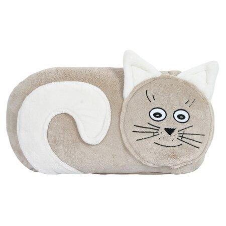 Polštářek Kočička, 45 x 40 cm