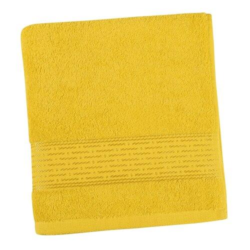 Kamilka Vonal törölköző sárga, 50 x 100 cm